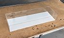Plexisklová vitrína s podstavou