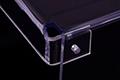 Acrylic shield fabrication - flexion detail