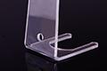Závěsný držák pro prezentaci produktů, detailní pohled na ohyb