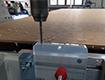 CNC frézování otvorů do materiálu pomocí multifunkčního sklíčidla