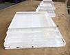 Slepený plexisklový blok o celkové výšce 160 mm